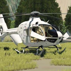 New freeware EC-135 under development for X-Plane