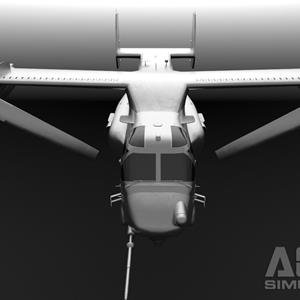 AOA Simulations show progress on V-22, announces 3 versions