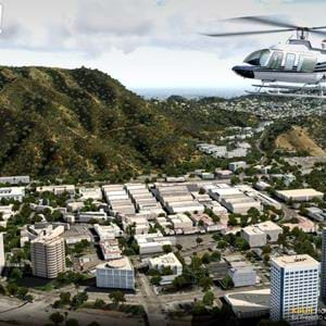 ORBX Hollywood Burbank for P3Dv4+ to bring helipads