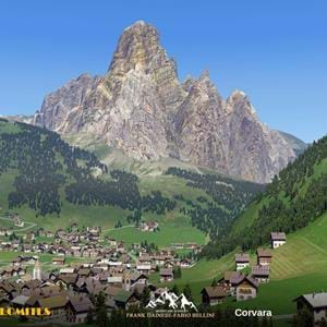 Frank Dainese and Fabio Bellini show 4th part of Dolomites for X-Plane