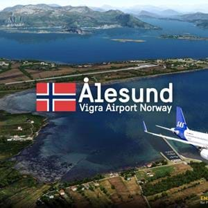 ORBX released ENAL Ålesund Vigra airport for P3D