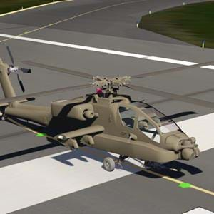 Author of the upcoming CH-53 for Aerofly FS2 is also working on an AH-64 Apache