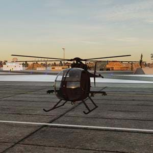 Free AH-6 Littlebird mod for DCS is now available
