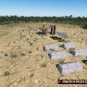 Freeware Okavango Delta scenery for X-Plane released