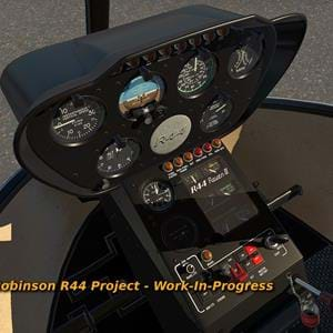VSKYLABS R44 cockpit screenshots, announces R22 and R44 release dates