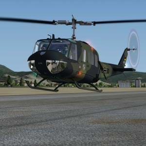New payware repaints for MILVIZ UH-1H Huey Redux