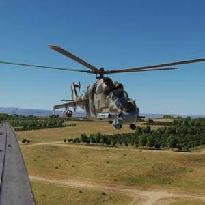 Eagle Dynamics shows Mil Mi-24 for DCS