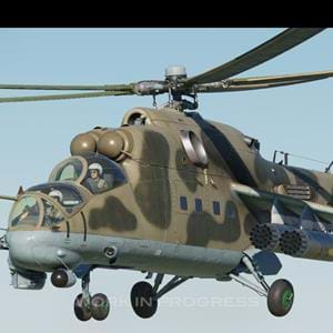 Eagle Dynamics Development Report on the Mi-24 Hind for DCS