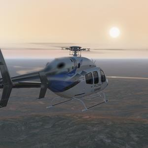 Freeware Bell 429 updated for X-Plane 11.50