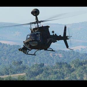 Polychop's OH-58 Kiowa for DCS postponed to 2021