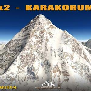 Frank Dainese and Fabio Bellini released K2-Karakorum scenery for X-Plane
