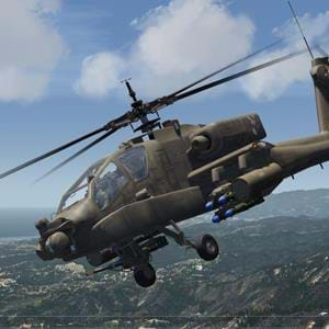 Freeware AH-64A Apache for Aerofly FS2 final version was released