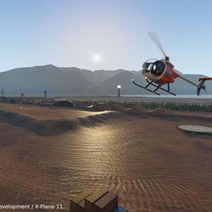 VSKYLABS is developing a helicopter training scenery for X-Plane