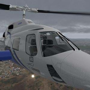 Cowan Simulation B222 update for X-Plane brings rain to VR, also in Vulkan