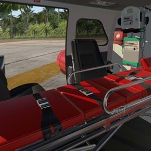 Sneak peek on the Cowan Simulation 222 medical version for X-Plane