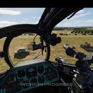Eagle Dynamics latest newsletter features the Mi-24P for DCS