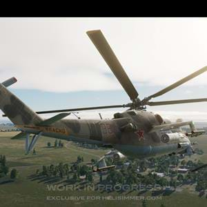 Exclusive new screenshots of the Eagle Dynamics Mi-24P for DCS