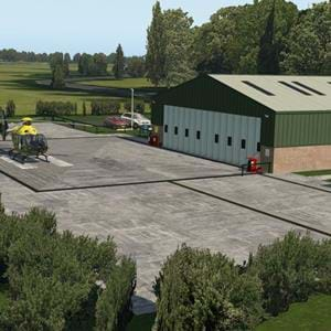 Charity Scenery Project released Husband's Bosworth NPAS for X-Plane