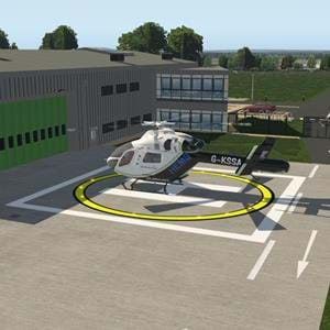 Charity Scenery Project released Wiltshire Air Ambulance Trust for X-Plane