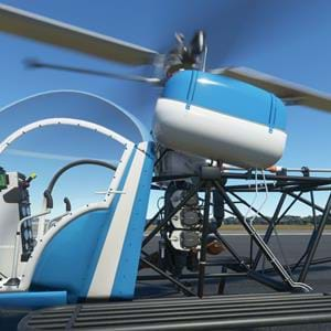 FlyInside announces helicopter for MSFS, with integrated flight dynamics