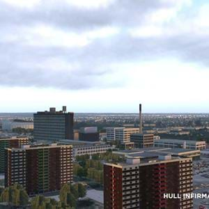 Boundless Simulation released Hull Infirmary Helipad for X-Plane