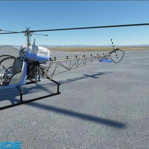 FlyInside published update on their upcoming Bell 47 for MSFS, shows off liveries