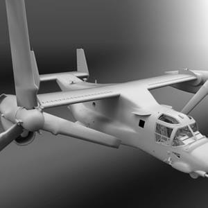 AOA Simulations updates 3D model of MV-22B Osprey, shows progress