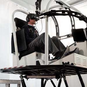 EASA certifies VRM Switzerland's VR training system for pilot training, using Aerofly FS2