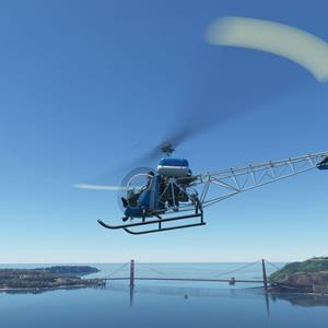 FlyInside Bell 47 for Microsoft Flight Simulator released