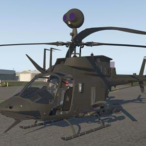 Freeware OH-58D Kiowa coming to X-Plane