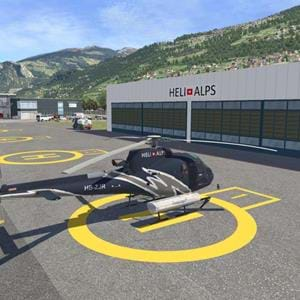Freeware HéliAlpes Swiss Pack for X-Plane released